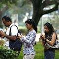Indische Smartphone-Anwender (Bild Flickr)